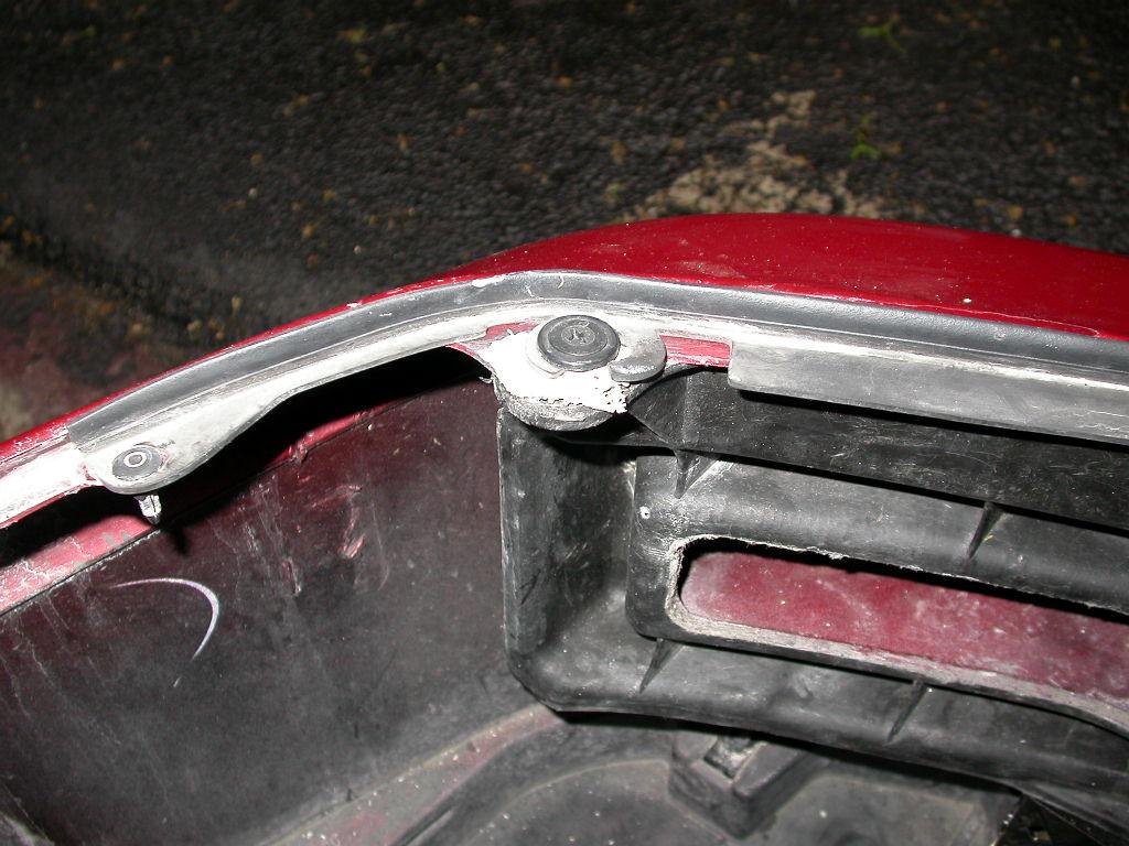 Bumper Repair  The Acura Legend  Acura RL Forum