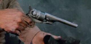 Blondie and his gun